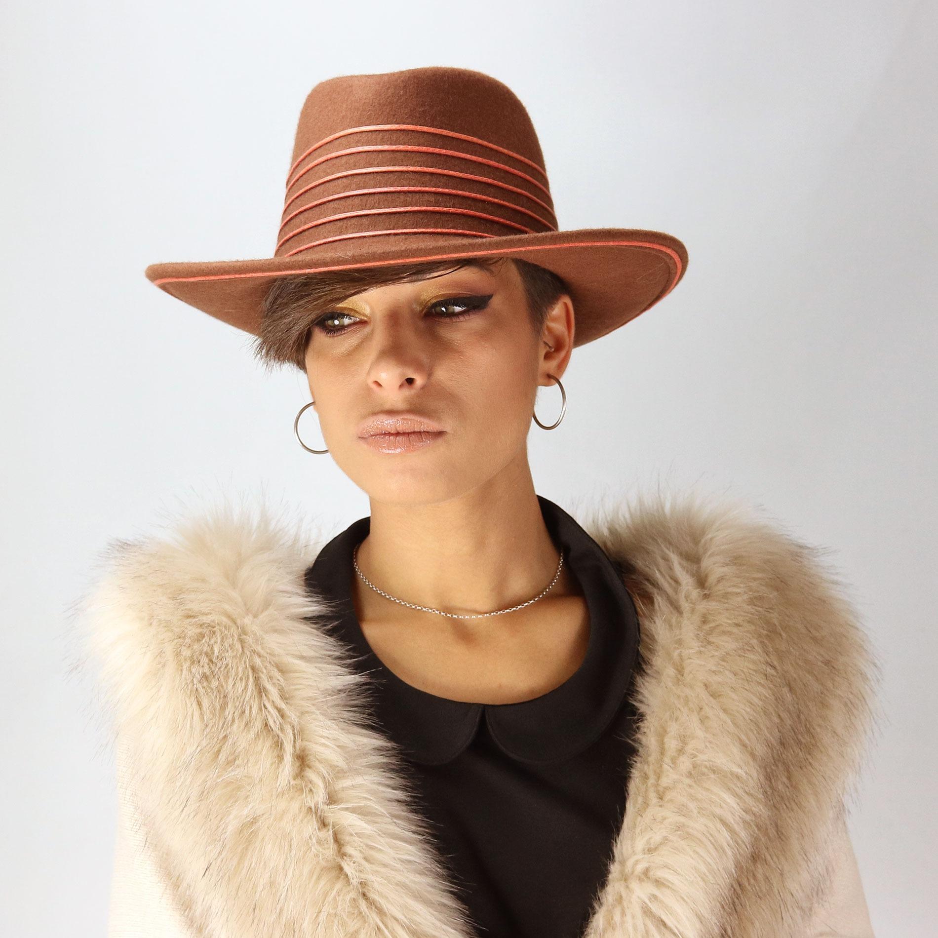 Cappello lobbia da donna - Autunno inverno 2018