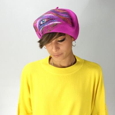 Penelope. 2178. Cappello modello basco in lana da donna ... 20372b44eb26